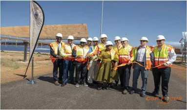 South Africa: Official launch of Kathu Solar Park